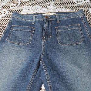 """JBrand J Brand Wide Leg Denim Jeans Pants Size 29"""""""